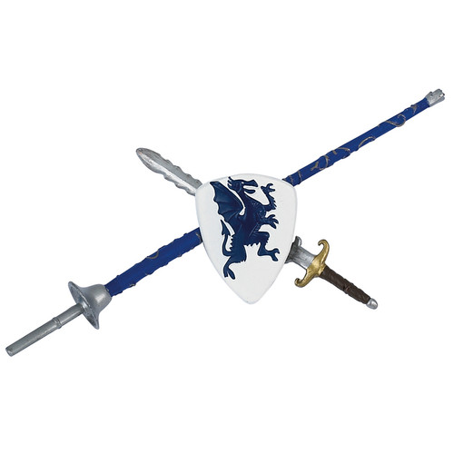 Papo 10pc Shields and Swords Set