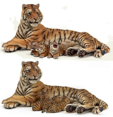 Papo Tigress Nursing