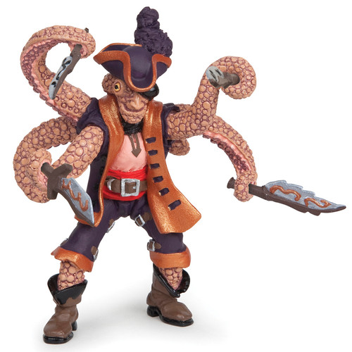 Papo Mutant Octopus Pirate