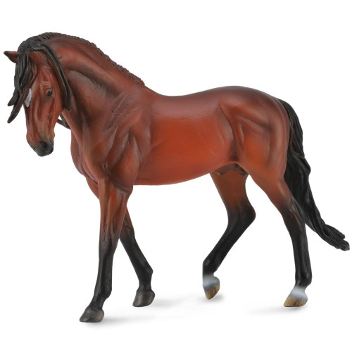 CollectA Andalusian Stallion Bright Bay Deluxe Scale