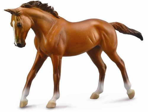CollectA Thoroughbred Mare Chestnut Deluxe Scale