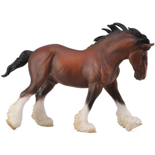 CollectA Clydesdale Stallion Bay