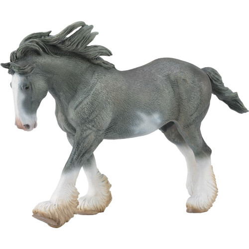 CollectA Clydesdale Stallion Black Sabino