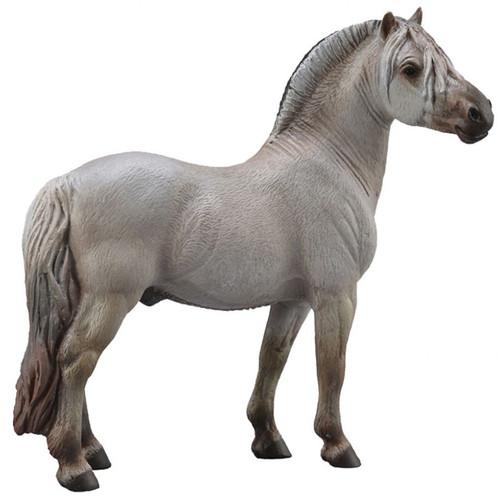 CollectA Fjord Stallion Silver Grey