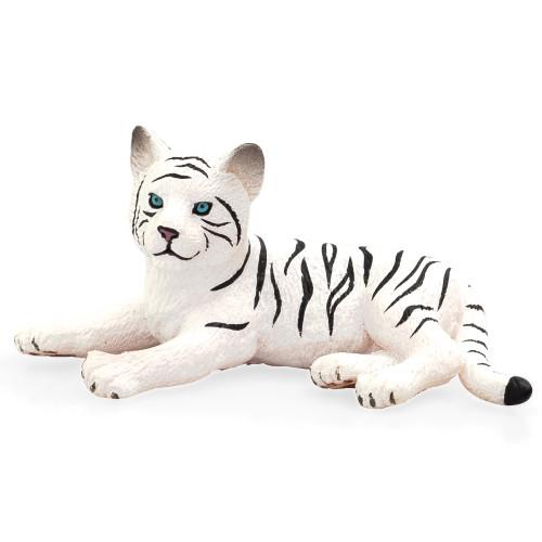 Mojo White Tiger Cub Lying