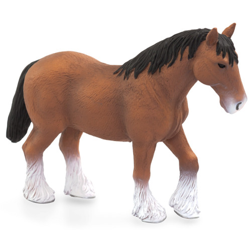 Mojo Clydesdale Horse Brown new colour 2020