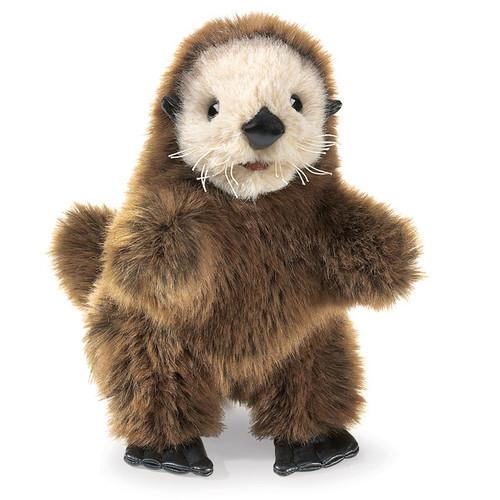 Folkmanis Sea Otter Baby Hand Puppet