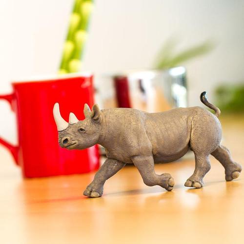 Safari Ltd Rhino Black