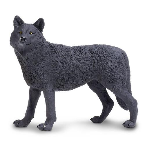 Safari Ltd Black Wolf Jumbo