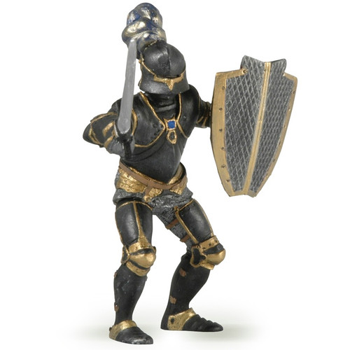 Papo Armoured Knight Black