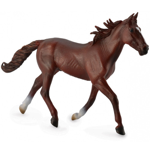 CollectA Standardbred Pacer Stallion Chestnut