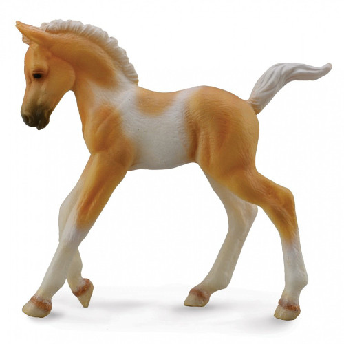 CollectA Pinto Foal Walking Palomino