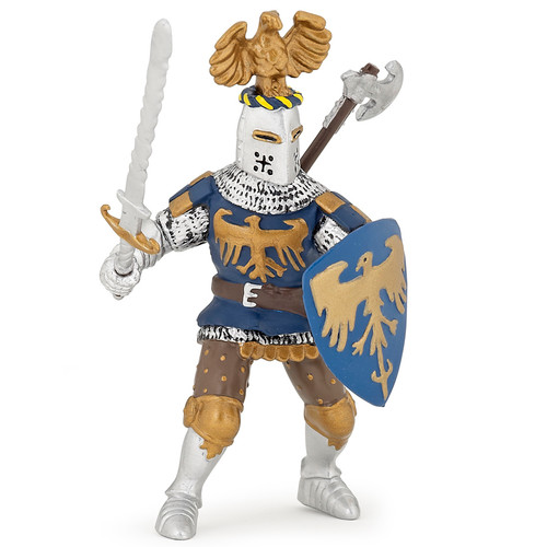 Papo Crested Knight Blue