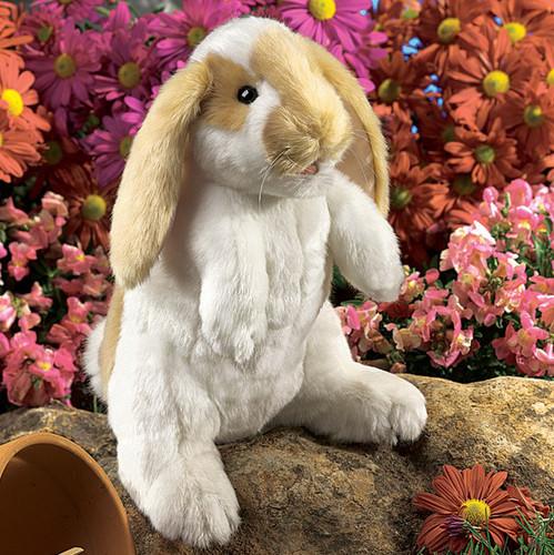 Folkmanis Standing Lop Rabbit Puppet