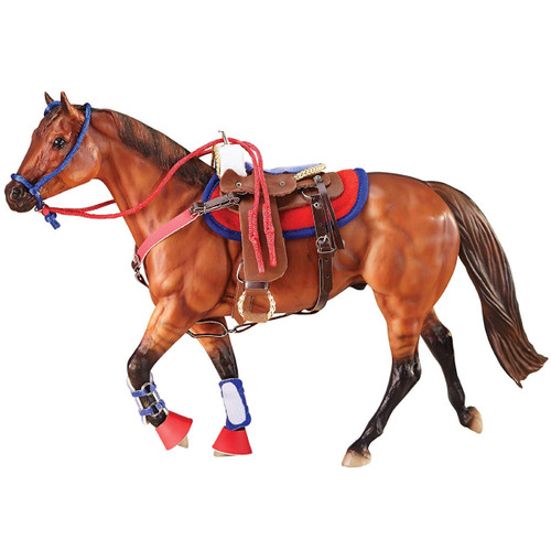 Breyer Hot Colours Western Riding Set traditional size. Horse not included.