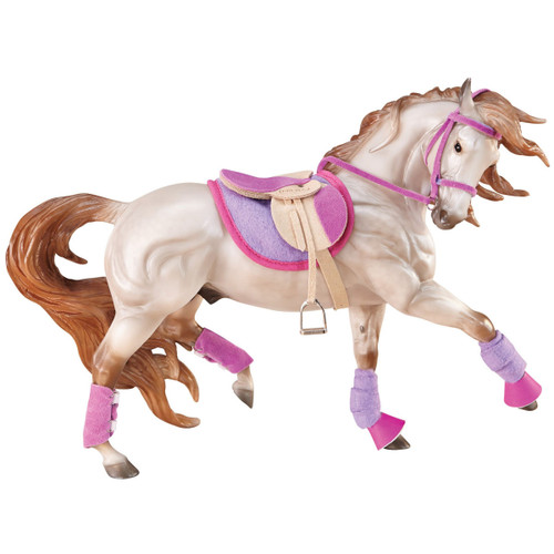 Breyer Hot Colours English Riding Set traditional size. Horse sold separately.