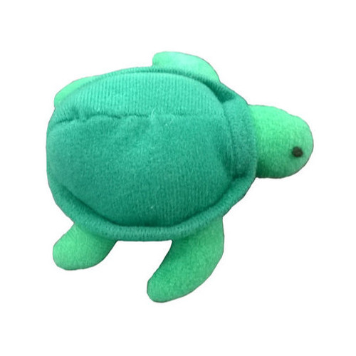 Science and Nature Turtle Finger Puppet Green