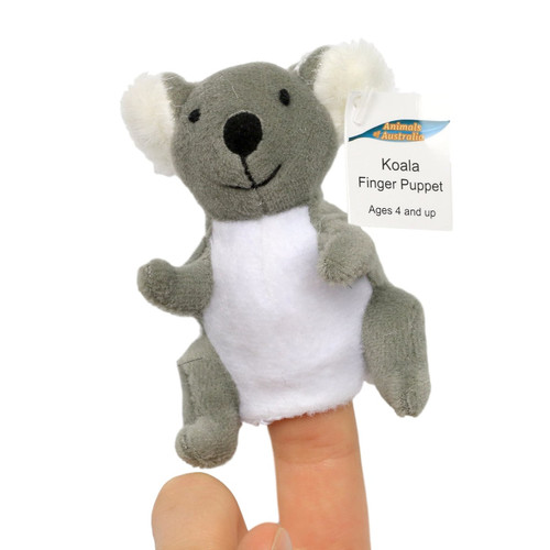 Science and Nature Koala Finger Puppet
