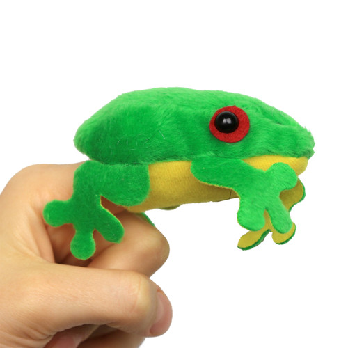 Science and Nature Frog Finger Puppet