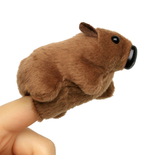 Science and Nature Wombat Finger Puppet