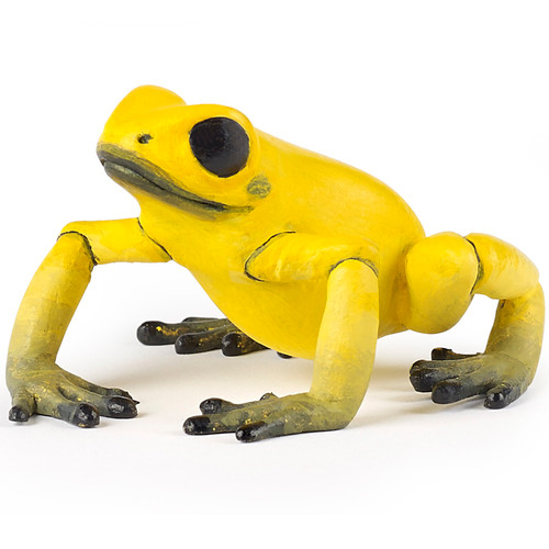 Papo Equatorial Frog Yellow