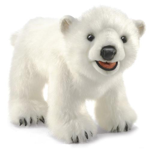 Polar Bear Cub Hand Puppet