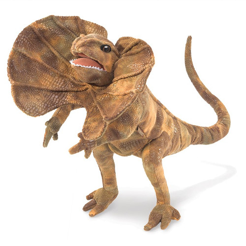 Frilled Lizard Puppet