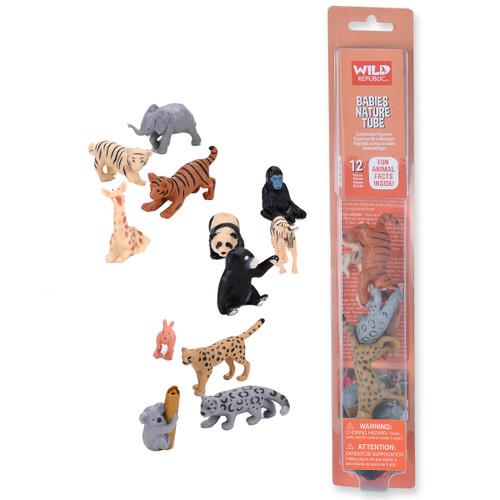 Wild Republic Baby Animals Tube