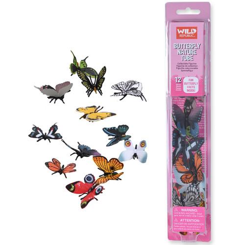 Wild Republic Butterflies Tube