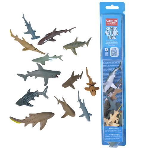 Wild Republic Shark Tube