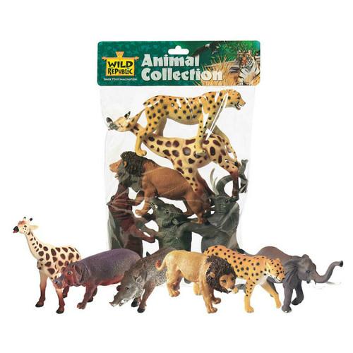 Wild Republic African Animals Polybag