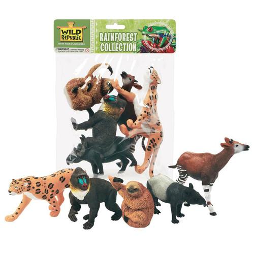 Wild Republic Rainforest Animals Polybag
