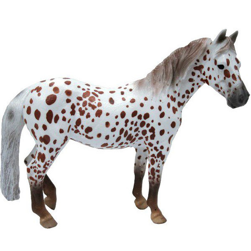 CollectA British Spotted Pony Mare Chestnut Leopard