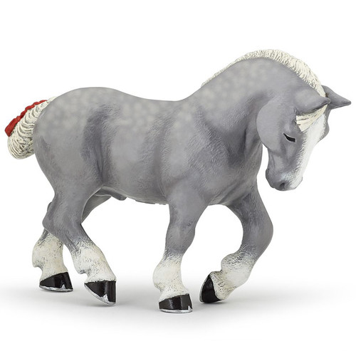 Papo Percheron Grey