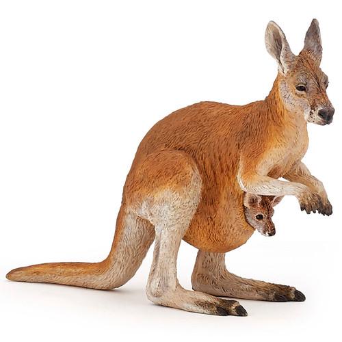 Papo Kangaroo with Joey