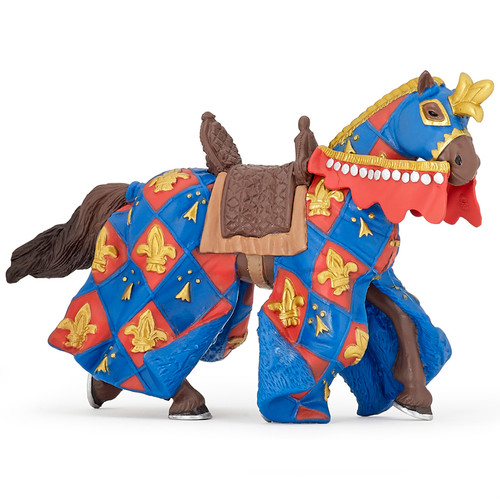 Papo Fleur de Lys Blue Horse