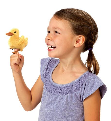 Duckling Finger Puppet
