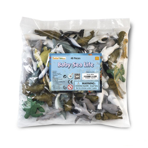 Safari Ltd Baby Sea Life Bulk Bag 48pc