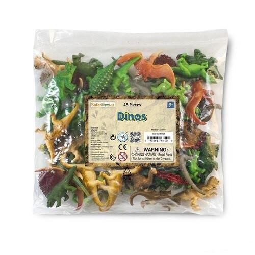Safari Ltd Dinosaurs Bulk Bag 48pc