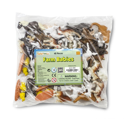 Safari Ltd Farm Babies Bulk Bag 48pc