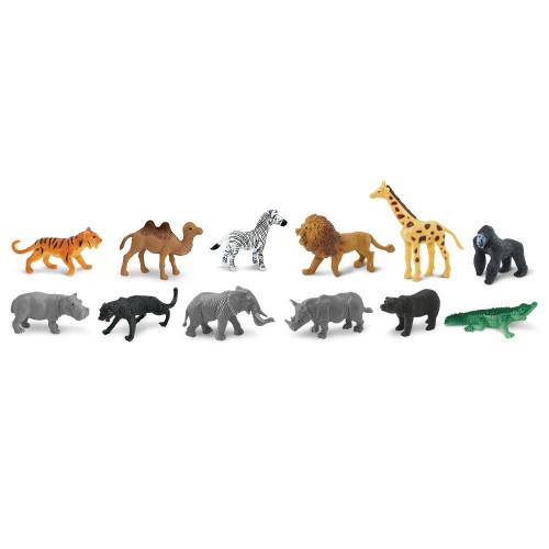 Safari Ltd Wild Bulk Bag 48pc