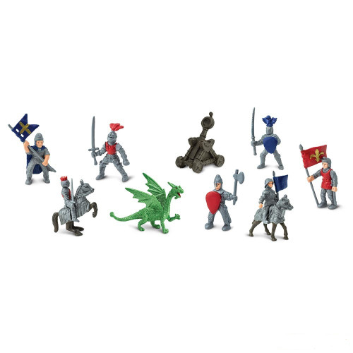Safari Ltd Knights & Dragons Bulk Bag 48pc
