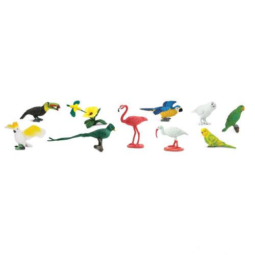 Safari Ltd Exotic Birds Bulk Bag 48pc