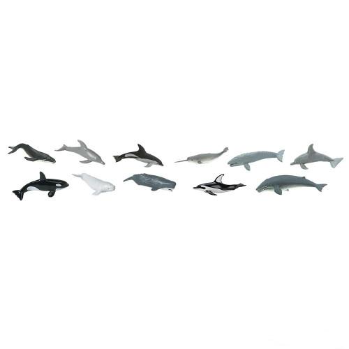 Safari Ltd Whales & Dolphins Bulk Bag 48pc