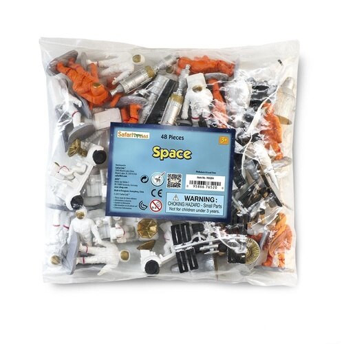 Safari Ltd Space Bulk Bag 48pc