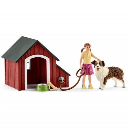 Schleich Dog Kennel Set
