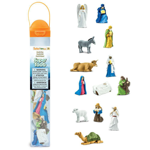 Safari Ltd Nativity Super Toob