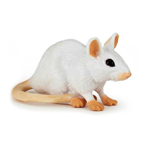 Papo White Mouse
