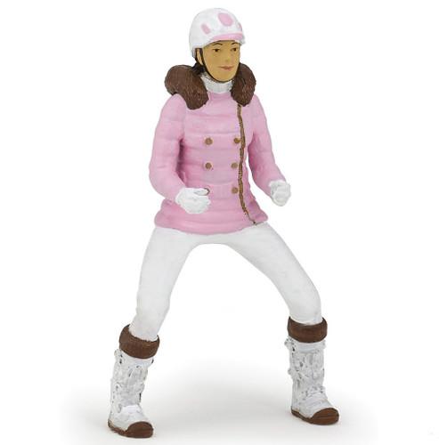 Papo Winter Riding Girl
