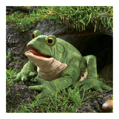 Folkmanis Toad Hand Puppet